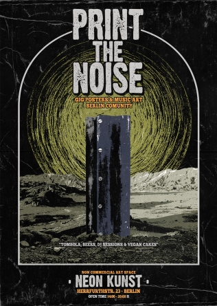 Print the Noise Poster Noise Armada