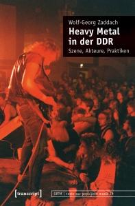 """Buchcover """"Heavy Metal in der DDR"""" Wolf Zaddach"""