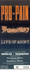 Pro-Pain The Spudmonsters Life of Agony 1994