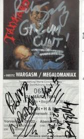 Tankar Wargasm Megalomaniax 1994