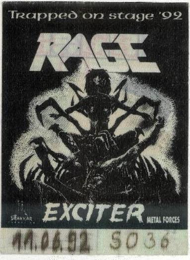 Rage Exciter 1992