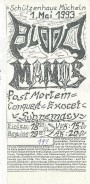 Blood Manos Postmortem Conquest Exocet Subremacy 1993