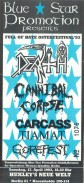 Death Cannibal Corpse Carcass Tiamat Gorefest 1993